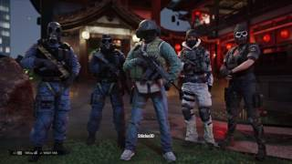 Full Team Rainbow Six Siege