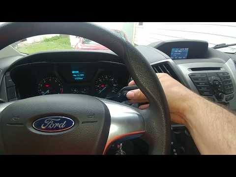 Fixing bypassing Ford Transit rain sensing wipers.