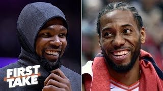 Kawhi and KD on the Clippers would unseat the Warriors as favorites – Max Kellerman   First Take