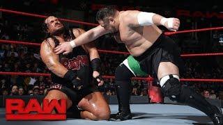 Rhyno vs. Samoa Joe: Raw, Jan. 8, 2018