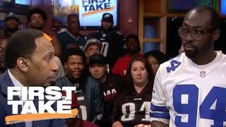 Mollywood: A Cowboys Fan Faces Stephen A. In Philadelphia   First Take   April 27, 2017