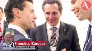 Ya es hora de que EPN rinda cuentas, no solo es Lozoya y Ruiz Esparza: Búrquez
