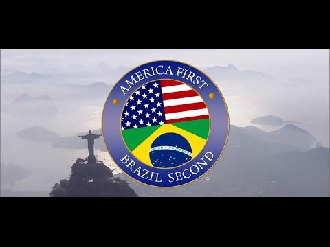 America first Brazil second