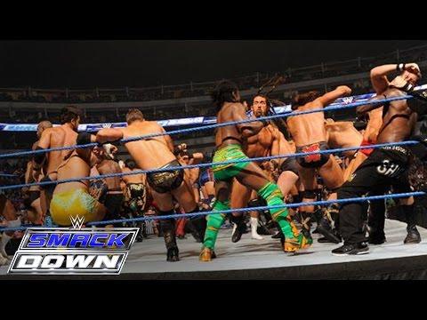 Xxx Mp4 41 Man Battle Royal For A Championship Match Of Winner S Choosing SmackDown October 14 2011 3gp Sex
