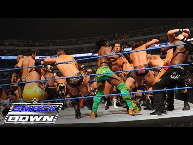 41-Man Battle Royal for a Championship Match of Winner's Choosing: SmackDown, October 14, 2011