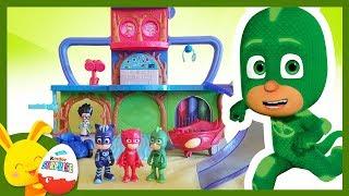 Pyjamasques - Histoire pour enfants - Yoyo Bibou et Gluglu - Touni Toys - Titounis