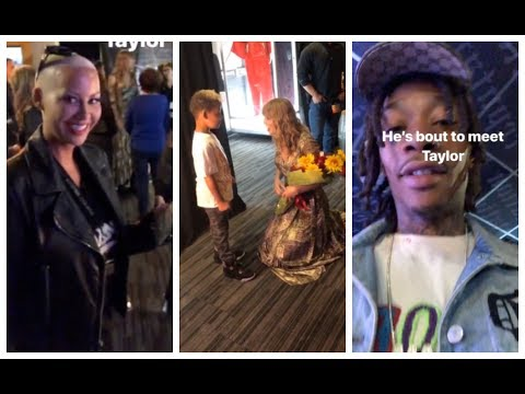 Xxx Mp4 Wiz Khalifa Amber Rose Take Their Son To Meet Taylor Swift 3gp Sex