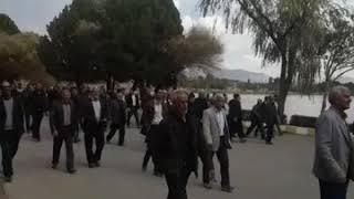 Iran, Ispahan Les agriculteurs locaux organisent une manifestation pour réclamer leur part des eaux