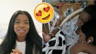 BIRTH VLOG | SHE HAD HER BABY!!