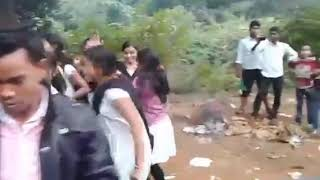 Odia college picnic dance by college students on a sambalpuri track odia college girl dance video#ad