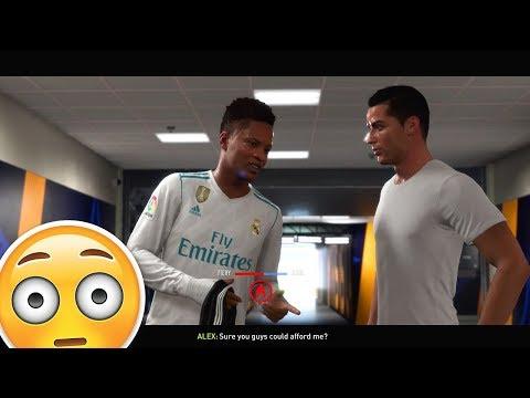 ALEX HUNTER vs CRISTIANO RONALDO (GONE WRONG) - FIFA 18 THE JOURNEY #2