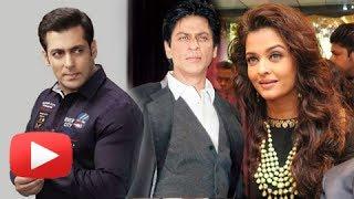 When Salman Khan, Shahrukh Khan, Aishwarya Rai Forgot Their Enmity ! MUST WATCH