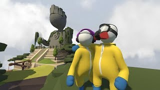 DOMINATING the AZTEC RUINS! - Human Fall Flat Multiplayer Gameplay