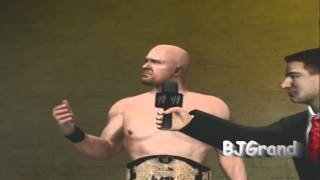 WWE '12 Stone Cold vs Brock Lesnar Custom Hell in a Cell match Promo