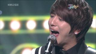 100305 KBS Music Bank - CNBLUE - Now or never + 외톨이야 孤獨的人