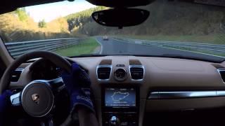Nürburgring Nordschleife Porsche 981 Boxster GTS vs. Z4M & M3 GTS