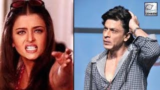 Shah Rukh Threw Out Aishwarya From His Film Sets | Lehren Diaries