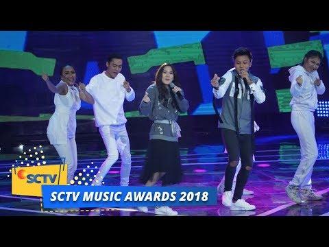 Sheryl Sheinafia Feat Rizky Febian Sweet Talk Sctv Music Awards 2018