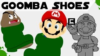 "Tips, Tricks and Ideas with Goomba Shoes in Super Mario Maker or ""The Shoe Princess"""