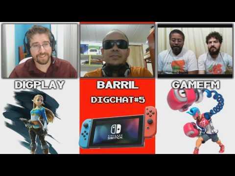 DIGCHAT #05 - O presente e futuro do Nintendo Switch