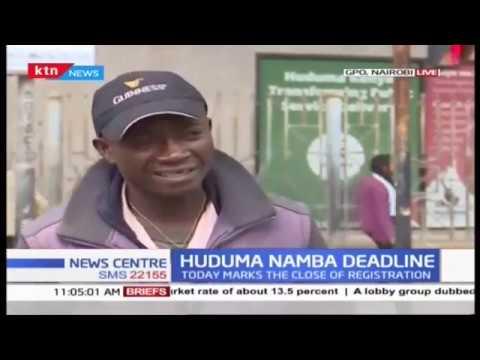 Xxx Mp4 Low Turnout Witnessed On Last Day Of Huduma Namba Registration 3gp Sex