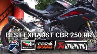Best Exhaust Sound CBR250RR | Akrapovic | Termignoni | R9 | Red Muffler | Austin Racing