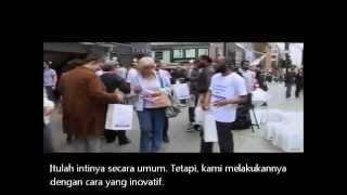 Tas Kebahagiaan|Cara Dakwah Unik di London|Subtitle Bahasa Indonesia