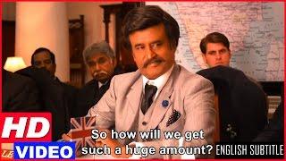 Lingaa Tamil Movie Scenes HD | Rajinikanth fights with the Govt for the dam | KS Ravikumar