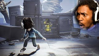 TIME TO BREAK OUT OF HERE.. AGAIN! | Little Nightmares DLC (+SONG!)