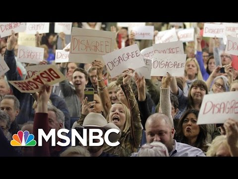 Mitch McConnell Members Of Congress Face The Heat At Town Halls Morning Joe MSNBC