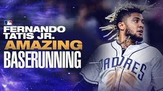 Fernando Tatis Jr. Baserunning Highlights (ELECTRIC on the basepaths!) | MLB Highlights