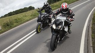 Yamaha MT-10 vs BMW S1000R Review Road Test | Visordown Motorcycle Reviews