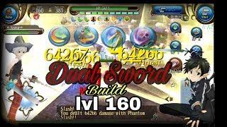 Toram Online - Dual Sword build lvl cap 160