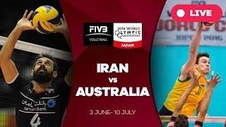Iran v Australia - 2016 Men