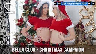 Janaina Santos and Emiliana Agacci Bella Club Sexy Christmas Campaign | FashionTV | FTV