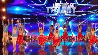 London School of Bollywood   Week 3   Britain's Got Talent 2017