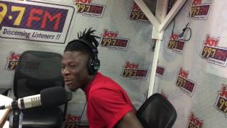 Stonebwoy – My Name (Freestyle on Joy FM)