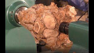 246  Wood-turning the  * Crown* of the root of all evil !!!