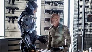 RoboCop (2014) - Robocop and Mattox Conversation (1080p) FULL HD