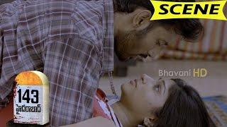 Lakshmi Nair and Arun Romantic Love Scene - 143 Hyderabad Movie Scenes