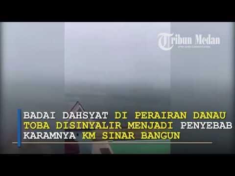 Detik-detik Badai Dahsyat saat Terbaliknya KM Sinar Bangun