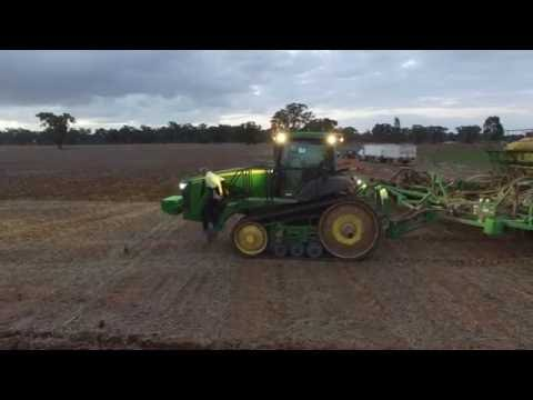 Drone footage - Sowing the winter Crop