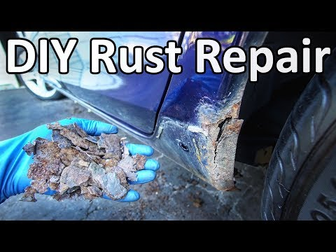 Xxx Mp4 How To Repair Rust On Your Car Without Welding No Special Tools Needed 3gp Sex