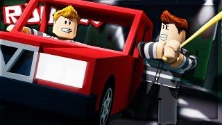 HIJACKING A CAR IN ROBLOX!