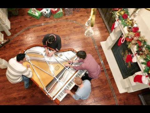 Angels We Have Heard on High Christmas w 32 fingers and 8 thumbs ThePianoGuys