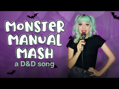 Monster Manual Mash A D&D Halloween Song by Ginny Di