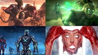 MORTAL KOMBAT X All Endings (All Characters)