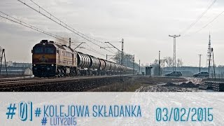 #01 Kolejowa Składanka #Luty2015  | Łowicz 03/02/2015