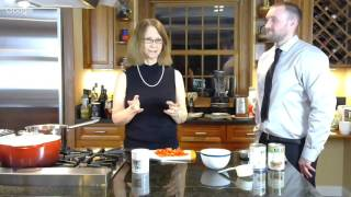 iDiet Cooking Demo with Dr Roberts | Feb 16 2017