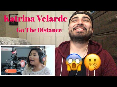 "Reaction to Katrina Velarde "" Go The Distance"""